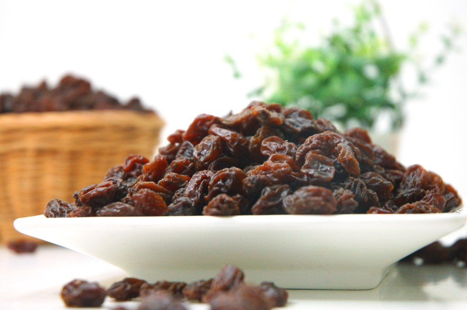 raisins and prunes