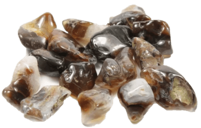 Fire agate collection