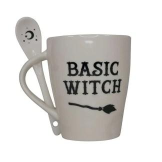 basic witch mug and spoon