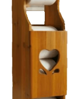 Sweet heart cabinet toilet roll holder