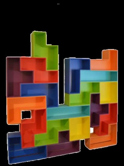 Another Tetris like wall unit arrangement