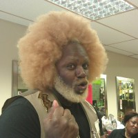 Man Made Afro!