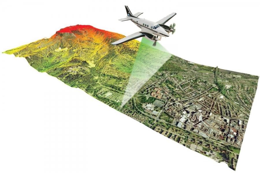Levée-topographique-par-LIDAR-embarqué