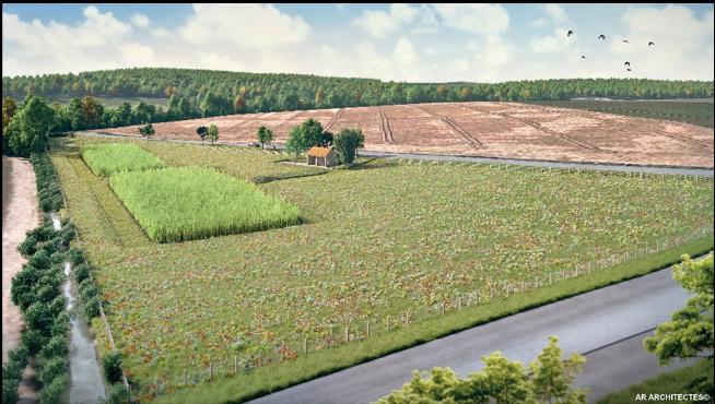 Projet de station d'épuration à Chauvry