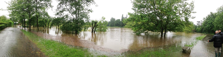 Inondation bassin des Moulinets Eaubonne