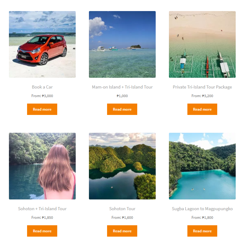 Choose a Siargao Tour Package