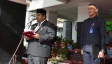 Wakil Bupati Pimpin Upacara Peringatan Hari Lahir Pancasila ke-73 di Padang Pariaman