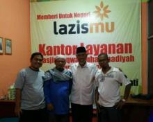Kunjungi KL Lazismu Taqwa, Mahyeldi Siap Support Pembangunan Muallaf Center Muhammadiyah di Padang