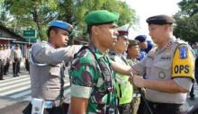Amankan Lebaran 2018, Polres Tanah Datar dan Tim Gabungan Terjunkan 315 Personil