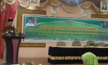 Gubernur Irwan Prayitno Akui Peranan Ormas Dalam Pembangunan Daerah, Shofwan: Kami Siap Sinergi