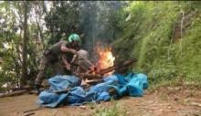 Puluhan Pondok Mesum di Kawasan Bukit Lampu Padang Didaram Petugas