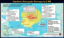Data Sementara 98 Meninggal dan 236 Luka-luka Akibat Gempa 7,0 SR di NTB, Bantuan Terus Mengalir