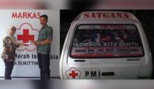 PMI Bukittinggi Galang Donasi untuk Lombok