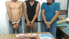 Polres Tanah Datar Bekuk 3 Pria Pencuri Kartu ATM