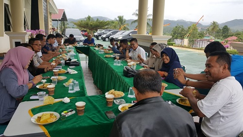 Pengunaan Dana Desa Sampai Jaksa Masuk Pasar Jadi Pembahasan dalam Coffe Morning Kejari Tanah Datar