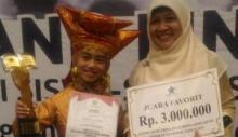 Mariza Ilfani Siswi Ranah Batahan Harumkan Nama Sumbar di Lomba Bercerita Perpusnas RI 2019