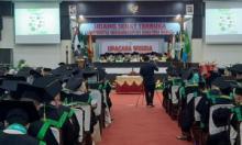 278 Mahasiswa Ikuti Wisuda ke-65 UMSB, Begini Pesan Rektor