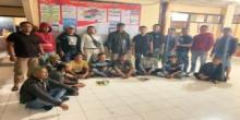 Asyik Berjudi, Sembilan Warga Salayo Diciduk Polisi