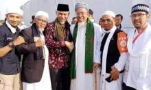 Mahyeldi Hadiri Reuni Akbar 212 di Jakarta Disambut Hangat Ulama
