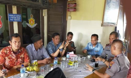 Irwan Basyir Hadiri Syukuran Kenaikan Pangkat Kapolsek Kuranji Kompol Armijon