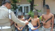 Ngisap Lem dan Bawa Golok, 6 Remaja Diamankan Satpol PP Padang
