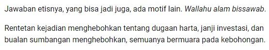 Suarapakar.com - Sumbangan Rp 2T Akidi Tio