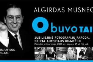 A. Musneckio 80-mečio paroda