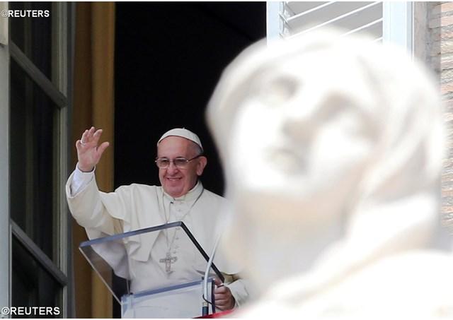 Слово Папы Франциска перед молитвой Regina Caeli в 4-е воскресенье Пасхального времени. 22 апреля 2018 г., площадь Св. Петра