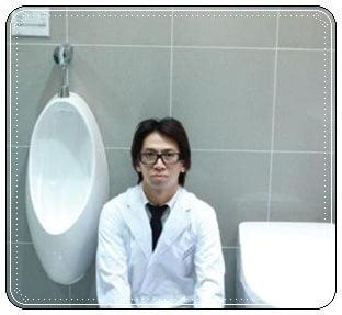 佐藤満春,トイレ掃除