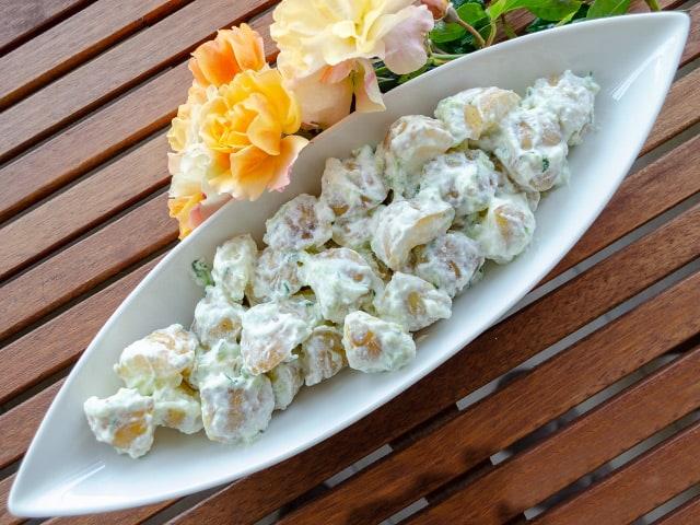Cacıklı Patates Salatası