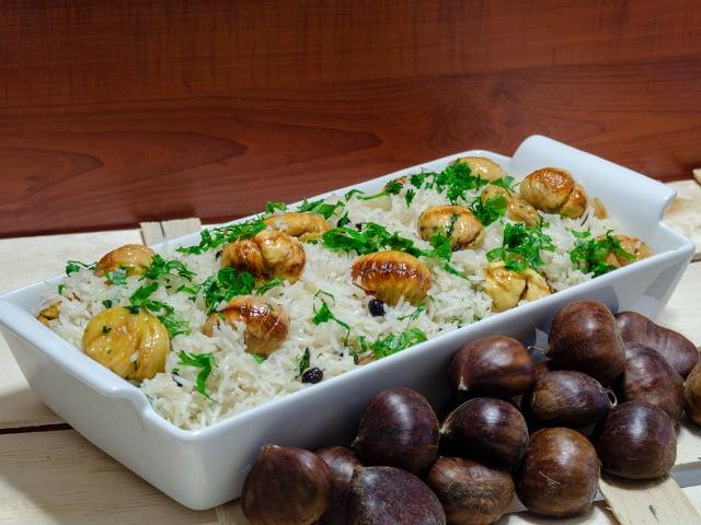 kestaneli pirinç pilavı