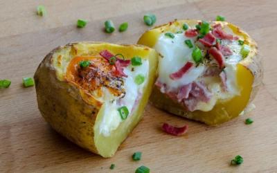 Yumurtalı Patates Dolması