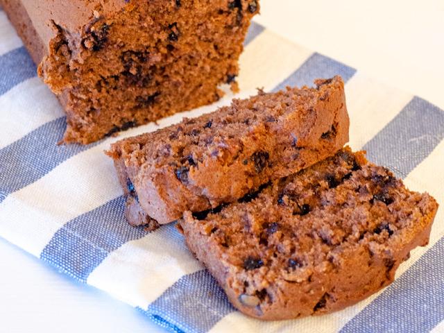 Çikolatalı Fıstık Ezmeli Muzlu Kek