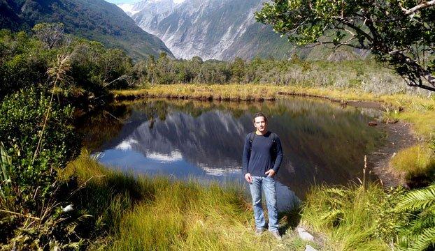 Krajolik-oko-ledenjaka-Franz-Joseph