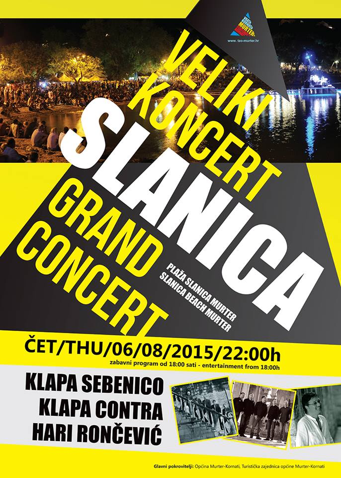slanica koncert
