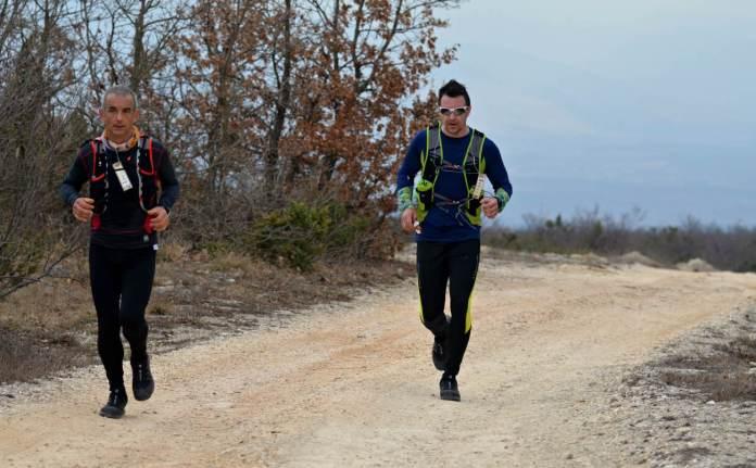 161.natjecatelji na stazi prije Planinarskog doma