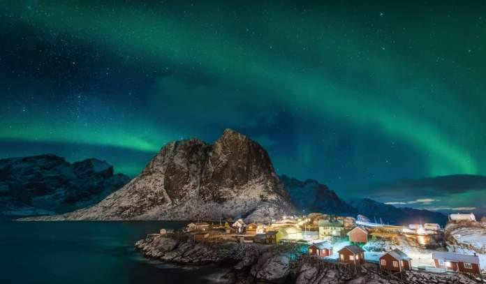 norveska polarna svjetlost