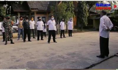 Kelurahan Kali Gandu Rutin Adakan Apel Pagi Di Halaman Kantor Kota Serang