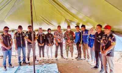 LSM-GMBI Kunjungi Kampung Adat Baduy Paska Insiden Kebakaran