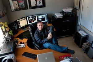 Krebs'in çalışma odasından bir fotoğraf