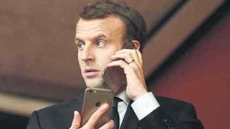 Macron, İsrail'den Pegasus açıklaması istedi