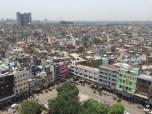Colourful facades of Old Delhi