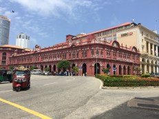 Old colonial style department store