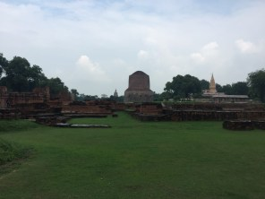 Sarnath - the complete opposite to Varanasi