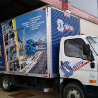carregando caminhão