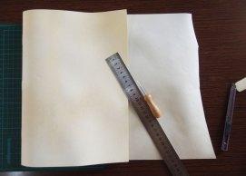 Making a parchment wrapper