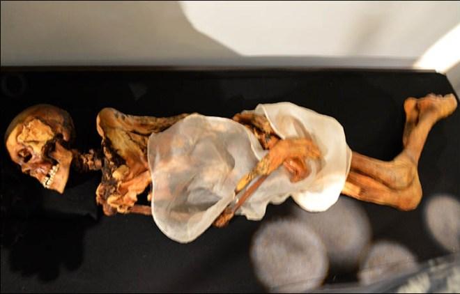 Ukok mummy MRI scan