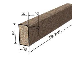 бордюр гранитный гп-1