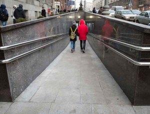 пешеходный переход Мичуринский