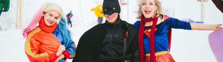 Супергерои на каникулах